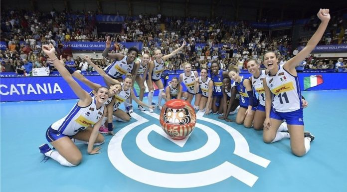Volley femminile, netto 3-0 all'Olanda: la splendida Italia va a Tokio 2020