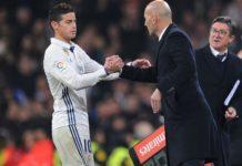 Calciomercato Napoli, si complica per James: Zidane lo vuole al Real