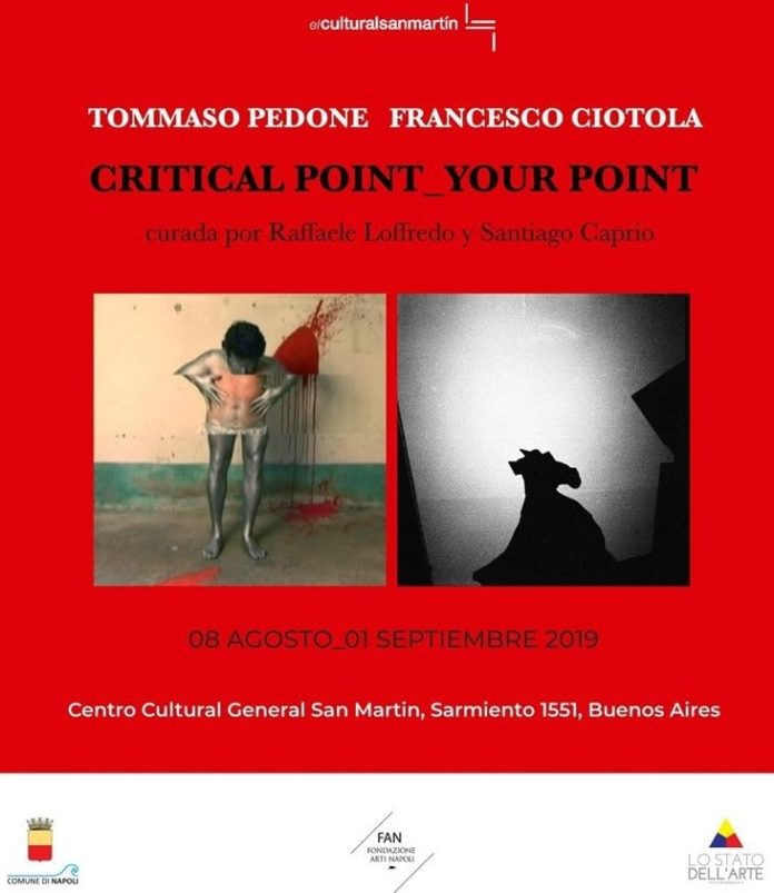 Critical Point Your Point: la mostra di Pedone e Ciotola a Buenos Aires