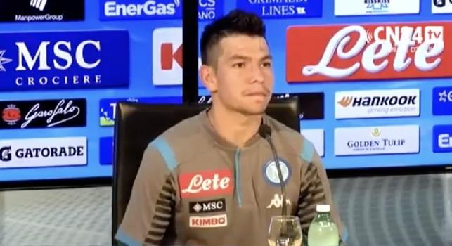 Calcio Napoli, presentato Lozano: