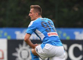 Calcio Napoli, nuovi guai per Milik costretto a lasciare il ritiro della Polonia