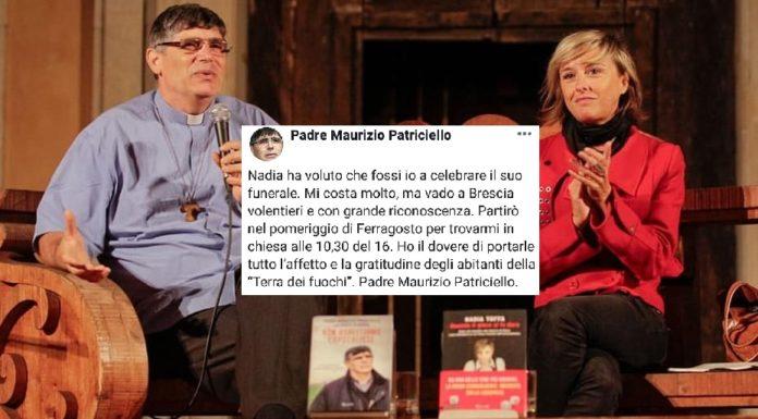 I funerali di Nadia Toffa celebrati il 16 agosto da don Patriciello