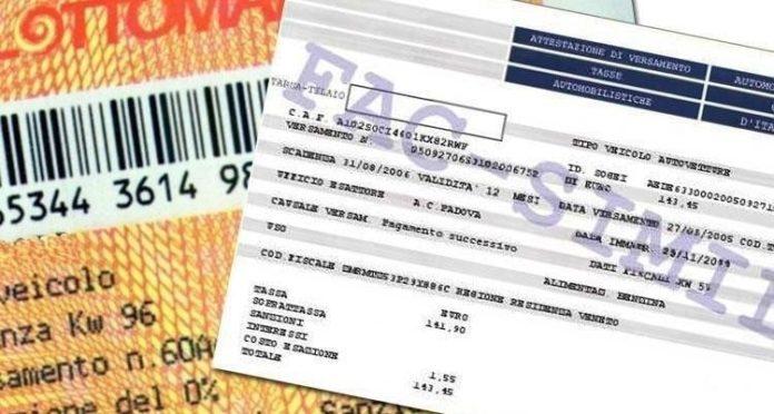 Bollo auto Campania, ok del Consiglio di Stato a ricorso Gefil contro affidamento ad Aci