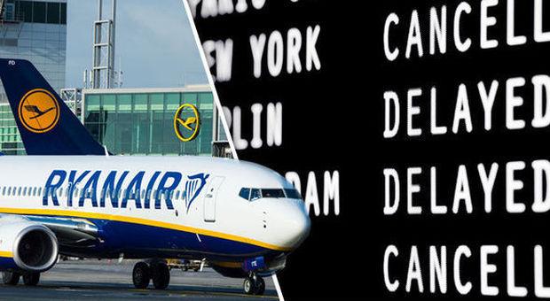 Ryanair, sciopero dal 2 al 4 Settembre: Come ottenere il rimborso del volo cancellato o in ritardo