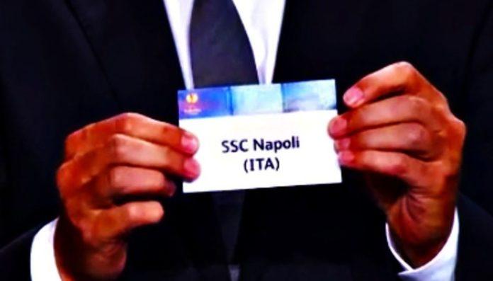 Calcio Napoli, sorteggio positivo in Champions League