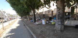 Via Marina, sgomberata la tendopoli davanti all'ospedale Loreto Mare