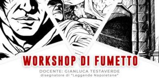 Aperte le iscrizioni al 'Workshop di fumetto' che si terrà a Napoli