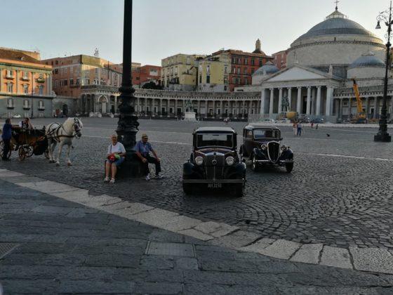 Il commissario Ricciardi: riprese al Gambrinus per la nuova fiction Rai