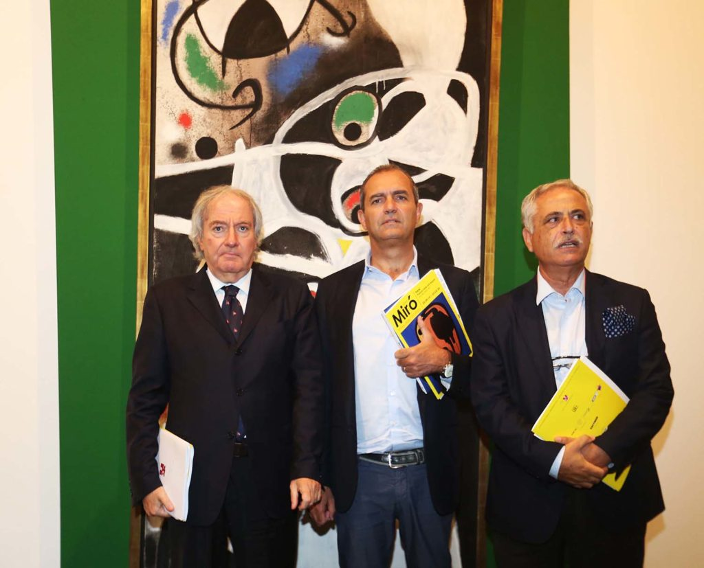 Al Pan di Napoli la straordinaria mostra dedicata all'artista spagnolo Joan Mirò