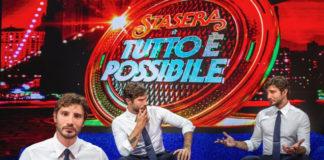 Stefano De Martino su Rai2 con Stasera tutto è possibile