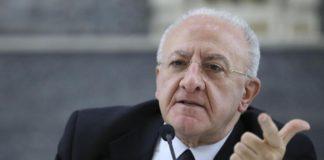 """De Luca: """"Basta chiacchiere politiciste. A fine settembre un nuovo concorso"""""""