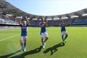 Calcio Napoli: battuto il Brescia al San Paolo 2-1. Azzurri dai due volti.
