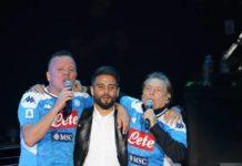 Gigi D'Alessio e Nino D'Angelo: grande trionfo all'Arena Flegrea