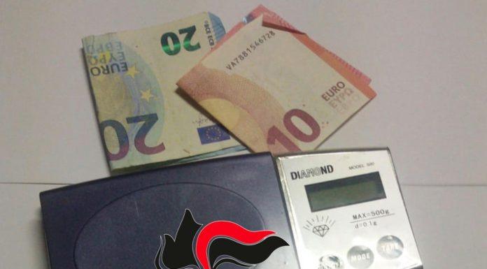 Casoria, spaccio di hashish in Corso Europa: due arresti
