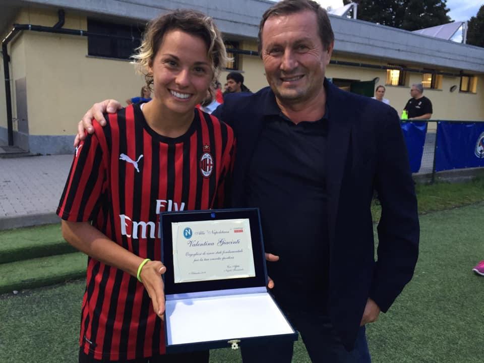 Napoli Calcio femminile: grande festa a Sedriano con il fortissimo Milan