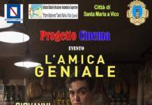 Santa Maria a Vico, Progetto Cinema: premi per gli attori de L'Amica geniale