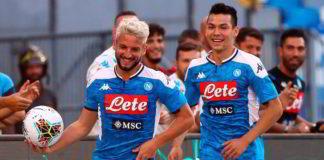 Napoli-Sampdoria 2-0: gli azzurri rialzano la testa grazie a Mertens