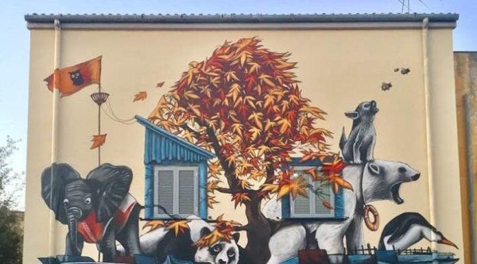"""Street art a Ponticelli: oggi l'inaugurazione del murale """"La Cura"""""""