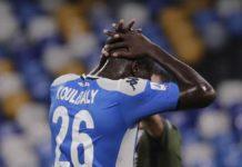 Calcio Napoli, Koulibaly ancora out: si allontana il suo ritorno in campo
