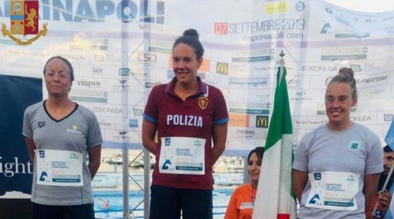 Capri-Napoli, podio per le Fiamme Oro: vittoria di Barbara Pozzobon