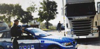 Mirabella Eclano, arrestato 43enne: guidava un camion armato e ubriaco
