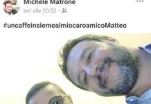 Salvini e il selfie col figlio del boss di camorra, l'Antimafia: chiarisca