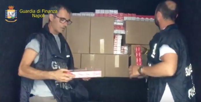 Contrabbando, sequestrati 9 quintali di sigarette a Napoli
