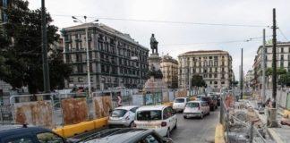 Napoli, record di cantieri: Piazza Garibaldi nella morsa del traffico