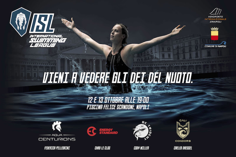 International Swimming League: arriva a Napoli uno spettacolo unico nella storia del nuoto