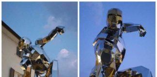 Avengers Endgame: a Forte dei Marmi la prima statua dedicata ad Iron Man