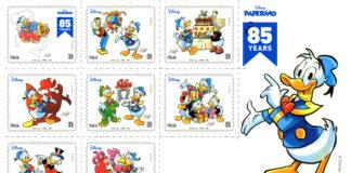 Poste Italiane: Ecco il francobollo dedicato a Paperino e al fumetto Disney in Italia