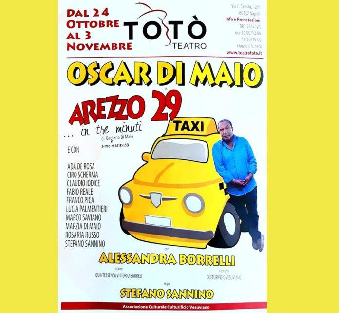 Oscar Di Maio inaugura la stagione artistica al Teatro Totò con