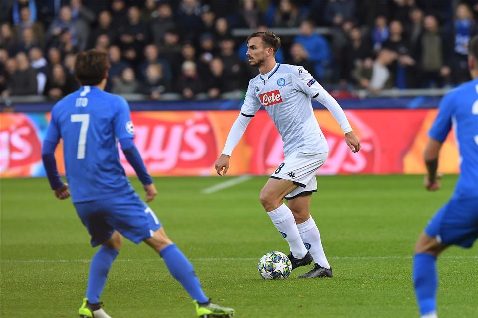 Calcio Napoli fuori di giri: la velocità del Genk blocca gli azzurri sullo 0-0