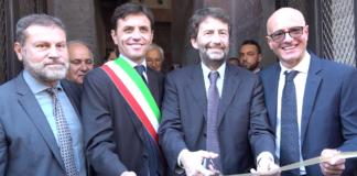 """Parco Archeologico di Ercolano: Il Ministro Dario Franceschini inaugura la """"Casa del Bicentenario"""""""