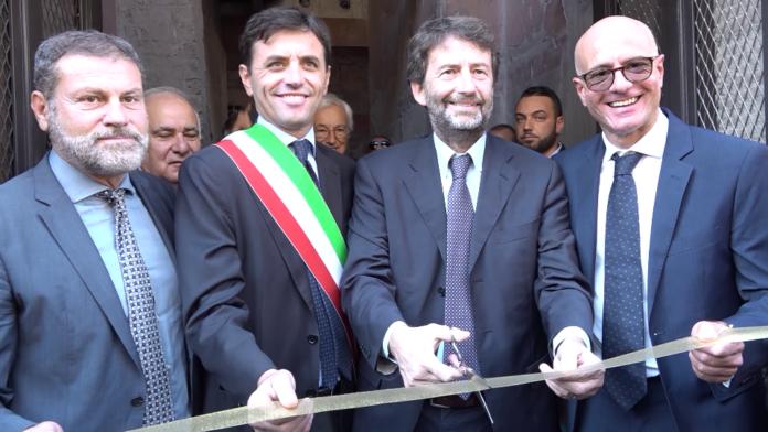 Parco Archeologico di Ercolano: Il Ministro Dario Franceschini inaugura la