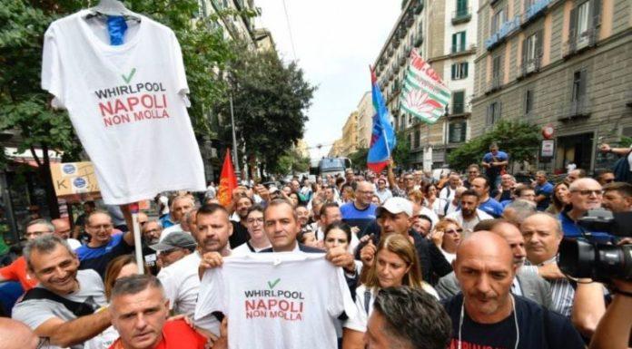 """De Magistris: """"Whirlpool? Napoli viene tradita. Il Governo deve fare qualcosa di concreto"""""""