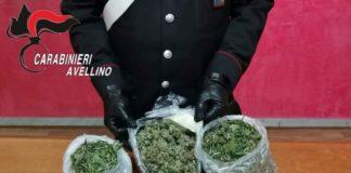 Avella, sorpreso con hashish e marijuana: arrestato un 30enne