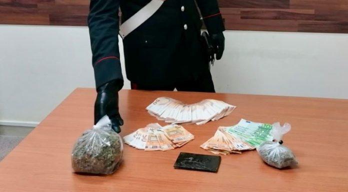 Sant'Antonio Abate: Carabinieri arrestano panettiere per detenzione di hashish e marijuana