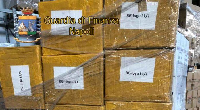 Guardia di Finanza: sequestrati più di 6000 capi di abbigliamento contraffatti