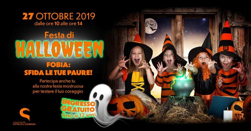 Eventi a Napoli 26-27 ottobre: Halloween a Città della Scienza ed Edenlandia