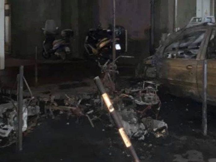 San Giorgio a Cremano: bruciato lo scooter del sindaco Giorgio Zinno