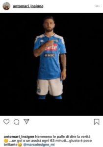 Calcio Napoli, Insigne va in tribuna e il fratello di sfoga sui social