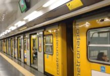 Anm: domenica 13 ottobre chiusura anticipata della metropolitana