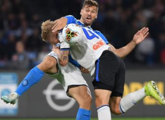 """Calcio Napoli, Rizzoli ammette: """"In Napoli-Atalanta abbiamo sbagliato"""""""