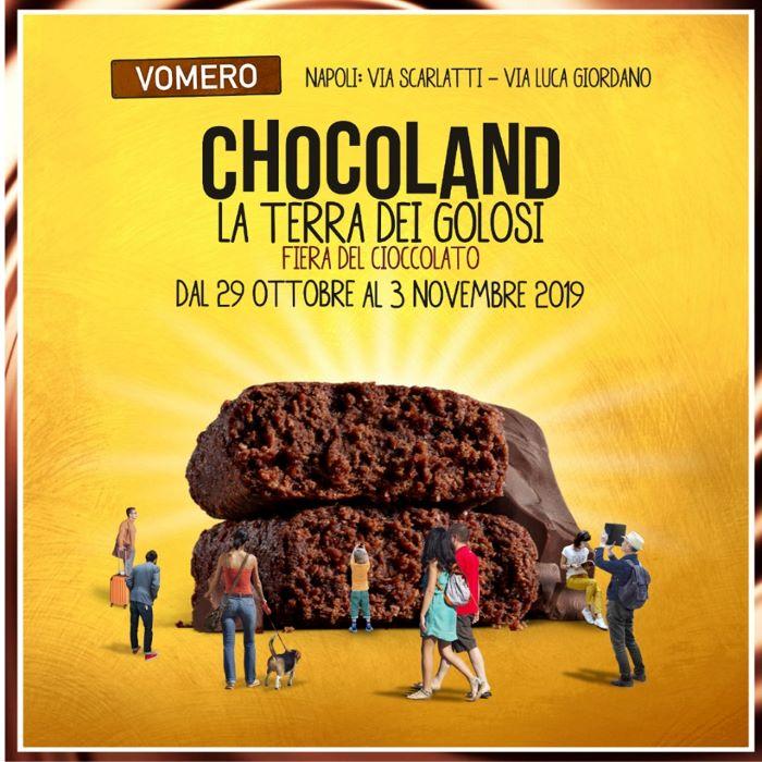 Eventi a Napoli 1-3 novembre: ecco l'atteso Chocoland al Vomero