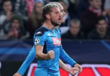 Calcio Napoli: a Udine ancora out Callejon e Mertens
