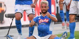"""Calcio Napoli: Mertens: """"In Italia mai con un'altra maglia"""""""