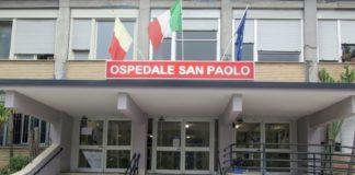Ospedale San Paolo, 50enne tenta due volte il suicidio: salvato dai vigilantes