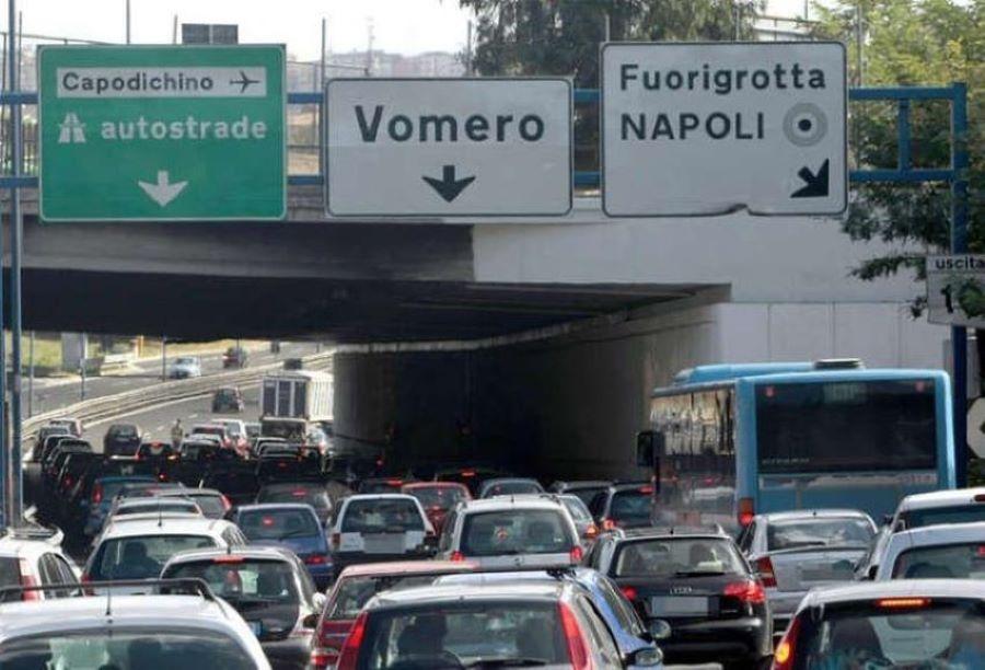 Lavori sulla Tangenziale di Napoli: possibile riapertura di piazza Dante al traffico