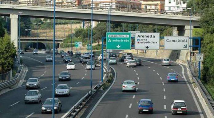 Tangenziale di Napoli: Per lavori di manutenzione sarà chiuso lo svincolo dell'uscita 'Secondigliano'. Date, orari e percorsi alternativi.